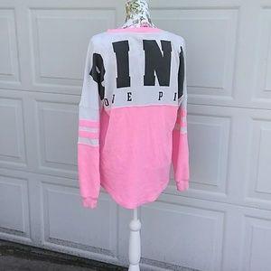 VS PINK varsity crew sweatshirt 💕💕